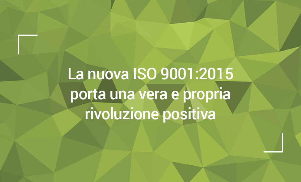 QUALITA' ISO 90012015
