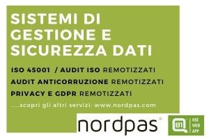servizio sistemi gestione e sicurezza dati