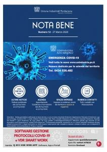 giornale NOTA BENE confindustria Alto Adriatico
